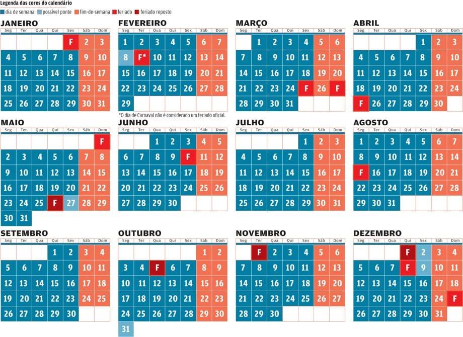 Calendario 2020 Portugal Com Feriados.Regresso De Quatro Feriados Assegura Tres Pontes Em 2016