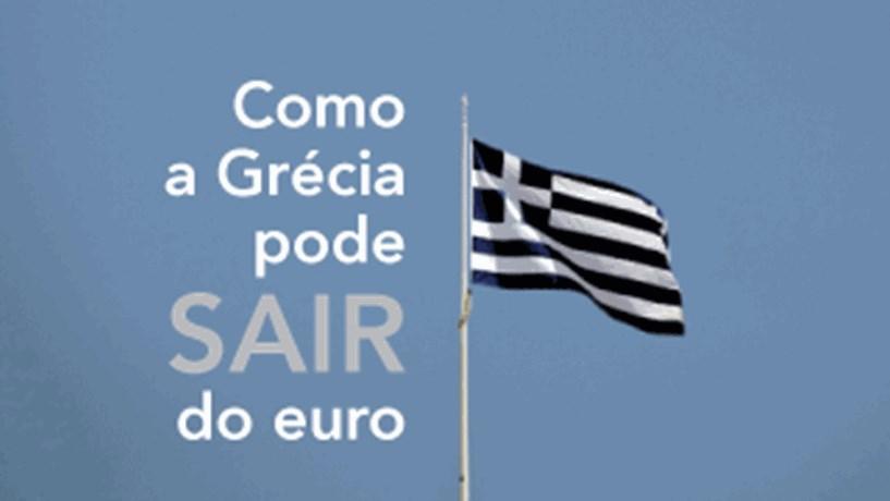 Infografia: Como a Grécia pode sair do euro