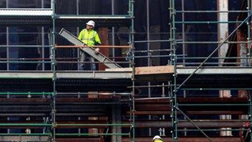 Construção em Portugal acentua tendência negativa e regista a segunda maior queda da Zona Euro