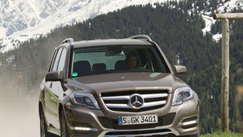 Mercedes-Benz GLK com novos atributos