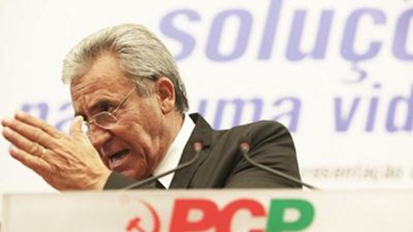 Jerónimo de Sousa diz que primeiro-ministro está a enganar portugueses