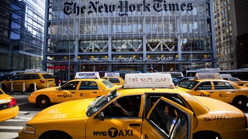 Apple retira aplicação do The New York Times da sua app store na China