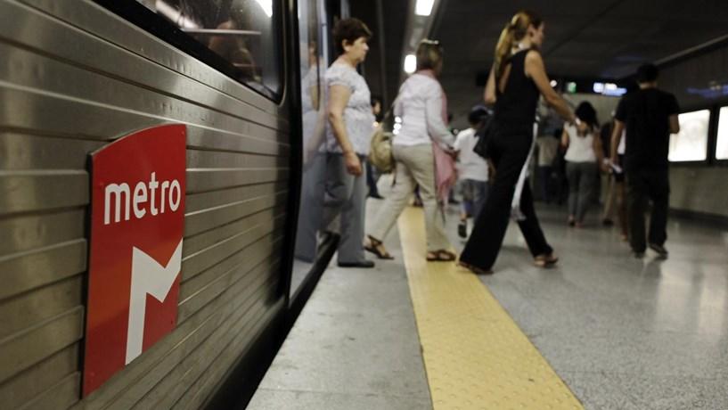 Estação de Arroios fecha para metro poder circular com seis carruagens