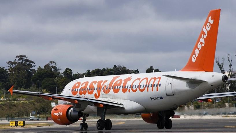 Receitas da EasyJet cresceram 7,2% impulsionadas pelo aumento de passageiros