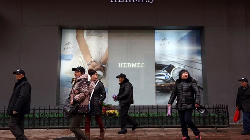Receitas da Hermès sobem 7,6% com ajuda da Ásia e recuperação do turismo na Europa