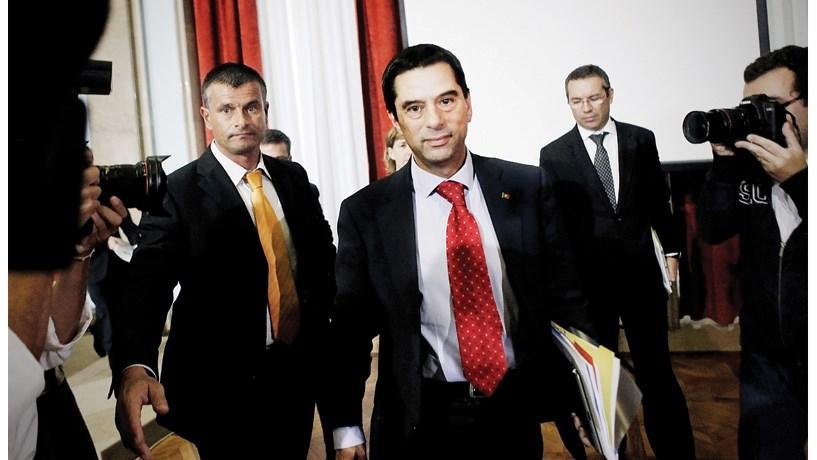 """Vítor Gaspar: """"Depósitos abaixo de 100 mil euros são sacrossantos"""""""