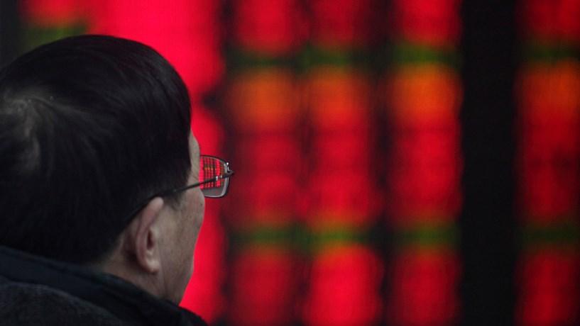 Bolsas asiáticas registam maior queda em sete semanas com EUA e Coreia do Sul a pressionar