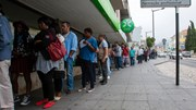 Desemprego registado no nível mais baixo em oito anos