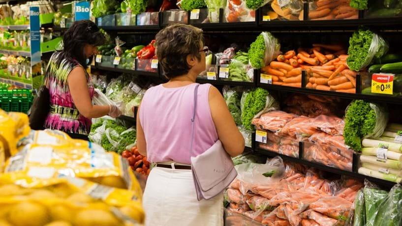 Inflação em Portugal é a terceira mais elevada da Zona Euro