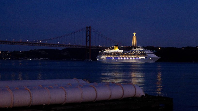 Cruzeiros cresceram 2% no porto de Lisboa no ano passado