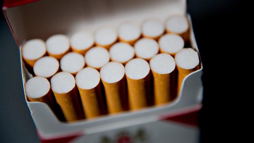 Maço de tabaco sobe a partir de cinco cêntimos