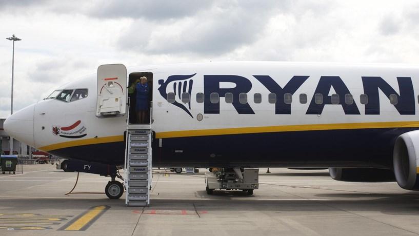 Acções da Ryanair disparam mais de 6% após subida dos lucros