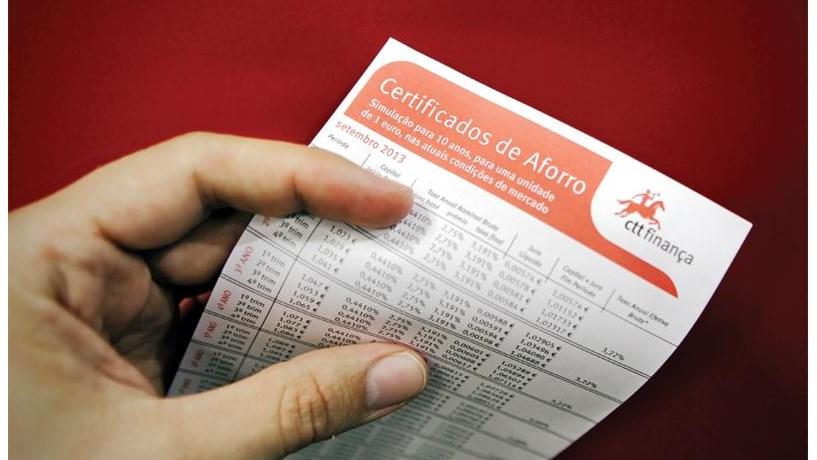 Valor aplicado em certificados supera pela primeira vez os 25.000 milhões de euros