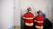 Incêndio em unidade de lavagem de produtos químicos na Maia