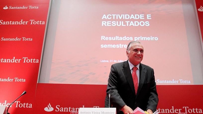 Lucros do Santander Totta crescem 66% até Setembro