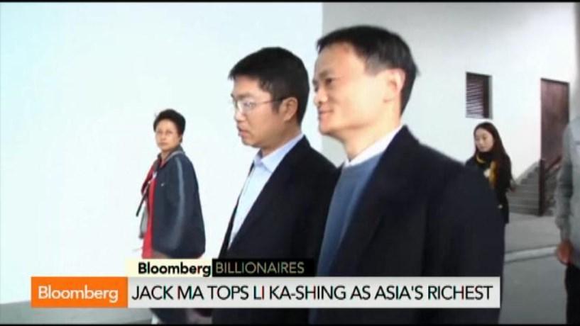 fundador da alibaba supera li ka shing como homem mais rico da sia sia jornal de neg cios. Black Bedroom Furniture Sets. Home Design Ideas