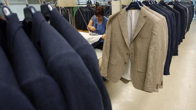 Exportações têxteis retomam crescimento em Maio