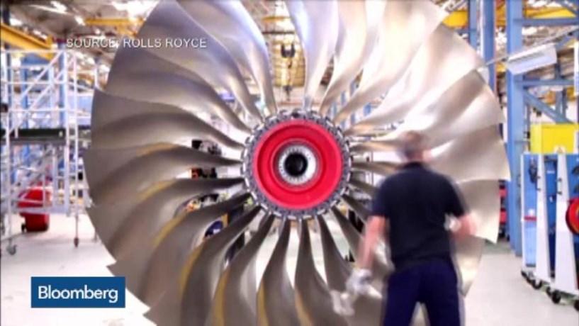 Rolls-Royce com prejuízos de 4,6 mil milhões de libras em 2016