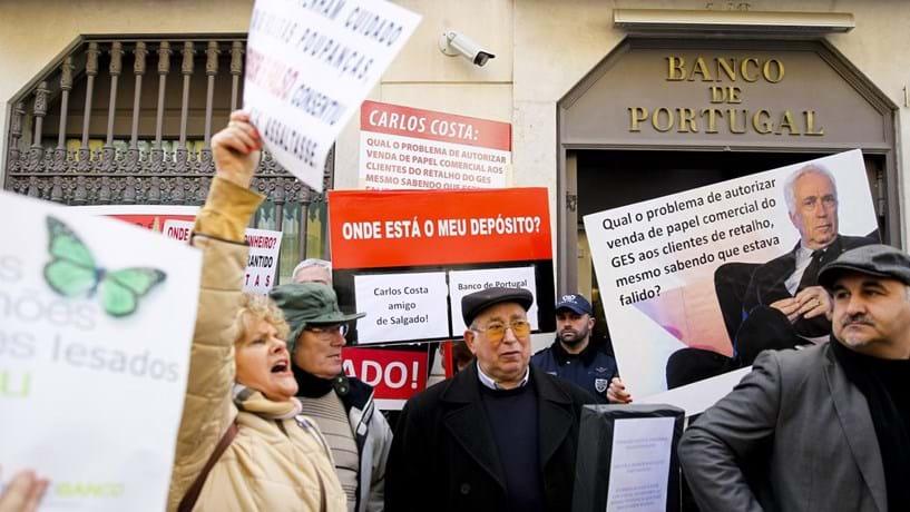 Já há 85 obrigacionistas lesados com 14 milhões perdidos no Novo Banco