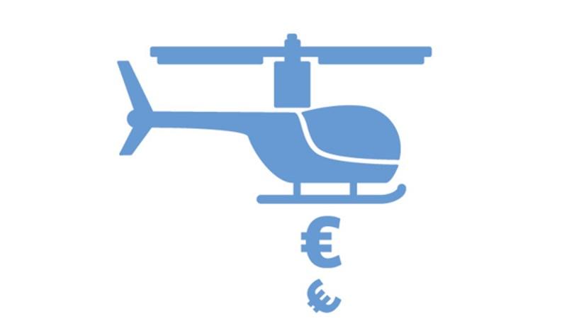 Saiba como ganhar com os helicópteros de dinheiro do BCE