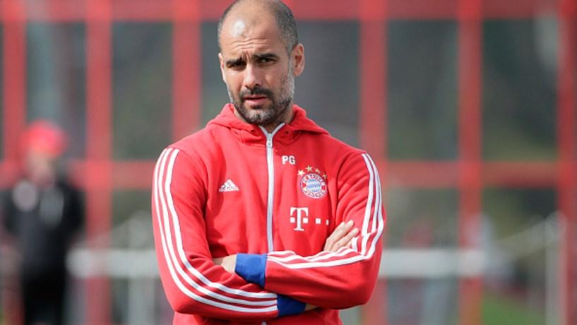O catalão deixa o Bayern Munique no fim da época para treinar o Manchester City.