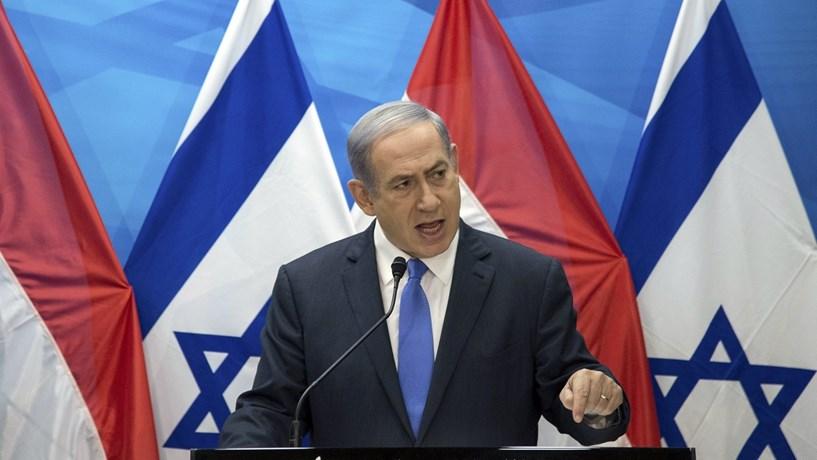 """Trump e Netanyahu discutiram """"ameaças que o Irão coloca"""""""