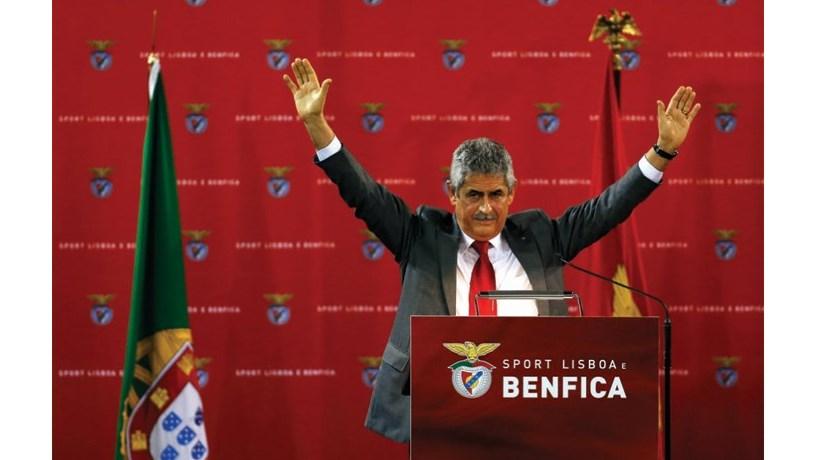 Luís Filipe Vieira reeleito presidente do Benfica com 95,52% dos votos
