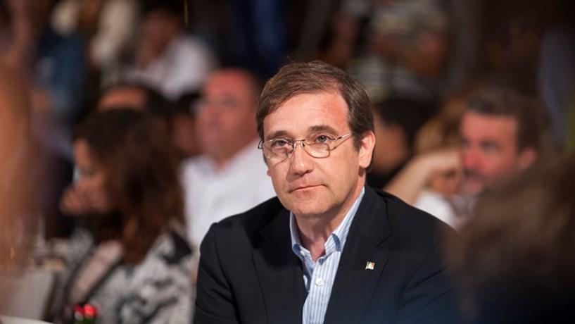 """Passos Coelho critica """"agenda revanchista"""" do Governo de Costa em 2016"""