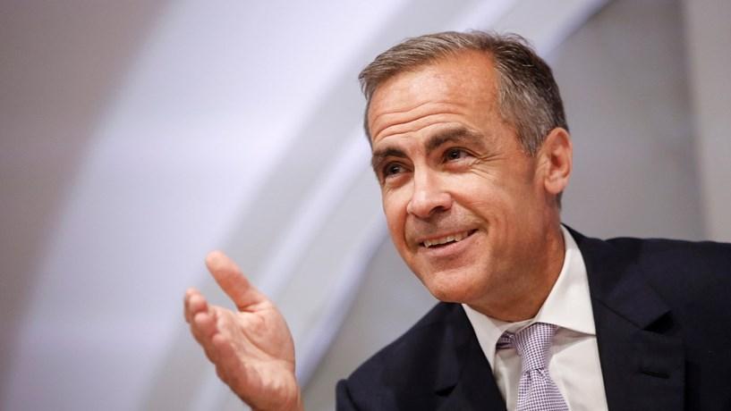 Carney vai ficar até 2019 à frente do Banco de Inglaterra