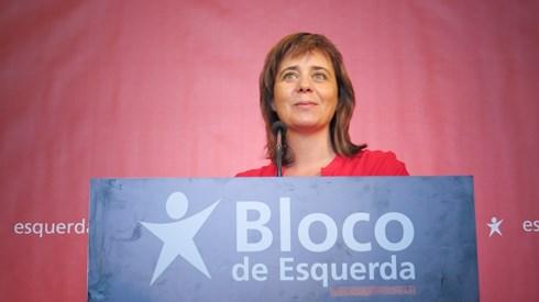 Catarina Martins promete combate contra vínculos precários também nas autarquias