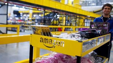 Lucro por acção da Amazon falha estimativas