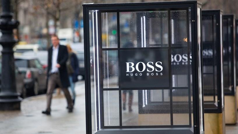 Acções da Hugo Boss disparam em bolsa com aumento das vendas na China