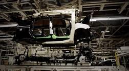 Produção automóvel em Portugal duplica em Setembro