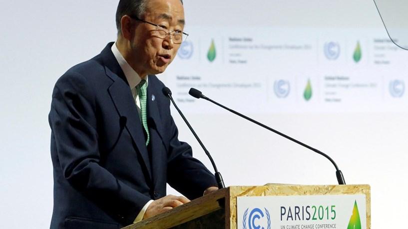 """Ban Ki-moon considera Guterres """"uma excelente escolha"""" para a sua sucessão na ONU"""