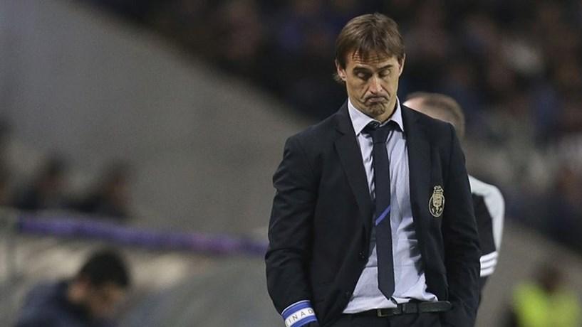 FC Porto não chega a acordo com Lopetegui