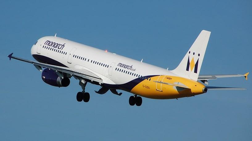 Insolvência da Monarch pode afectar hoje mais de 20 voos em Portugal