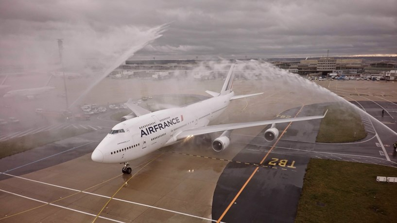 """O adeus da Air France ao Boeing 747, a """"Rainha dos Céus"""""""