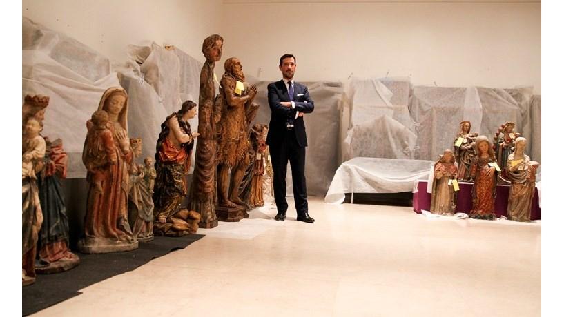 Estátua do século XVIII partida por turista no Museu de Arte Antiga pode ser recuperada
