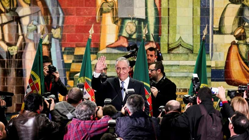 Marcelo Rebelo de Sousa tomará posse como Presidente da República a 9 de Março.