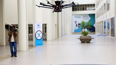 Drones de entrega de encomendas dependem da previsão do tempo por quarteirão