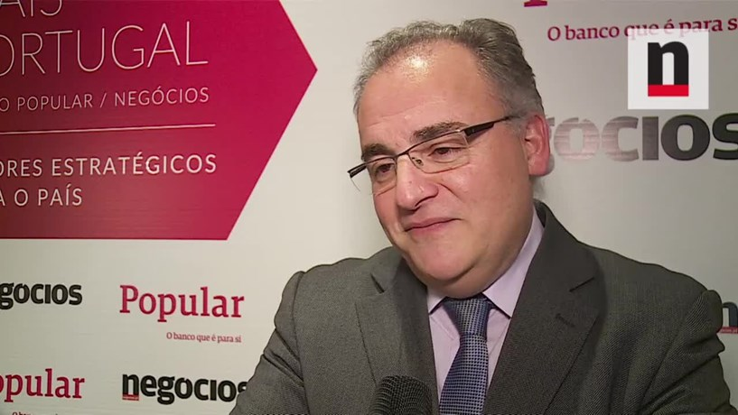 """José Carlos Caldeira: """"Temos trabalho a fazer"""" para elevar patentes com objectivos comerciais"""