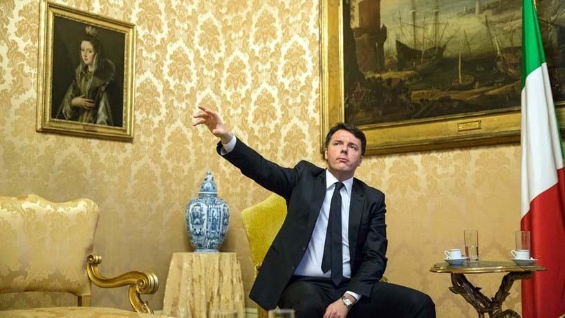Gabinete de Renzi desmente possível demissão em caso de vitória do referendo