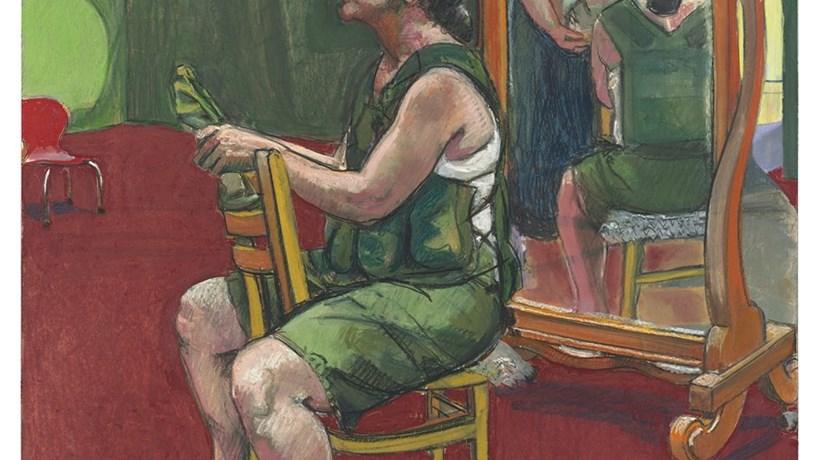 Quadro de Paula Rego a leilão na Christie's