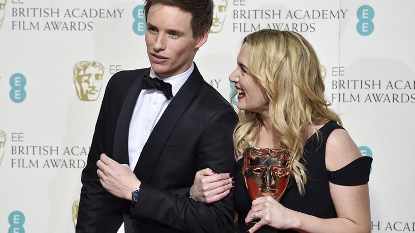 """Kate Winslet conquistou o Bafta para melhor actriz secundária no filme """"Steve Jobs""""."""