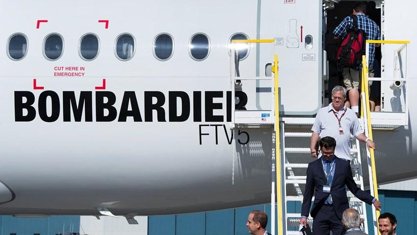 Bombardier corta sete mil postos de trabalho