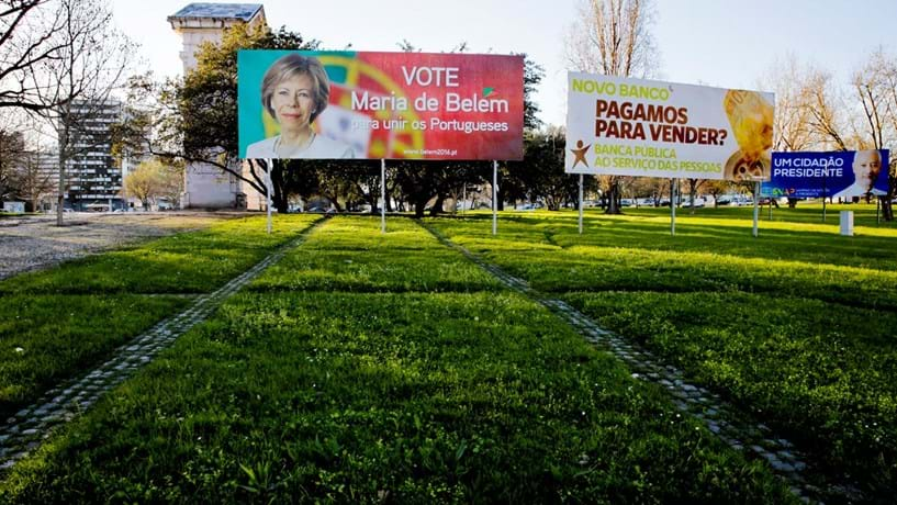 Está farto de ver cartazes das presidenciais? Lisboa diz que vai retirá-los