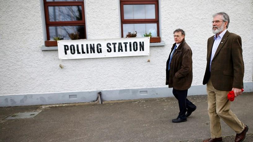 Participação nas eleições na Irlanda deve rondar os 70%