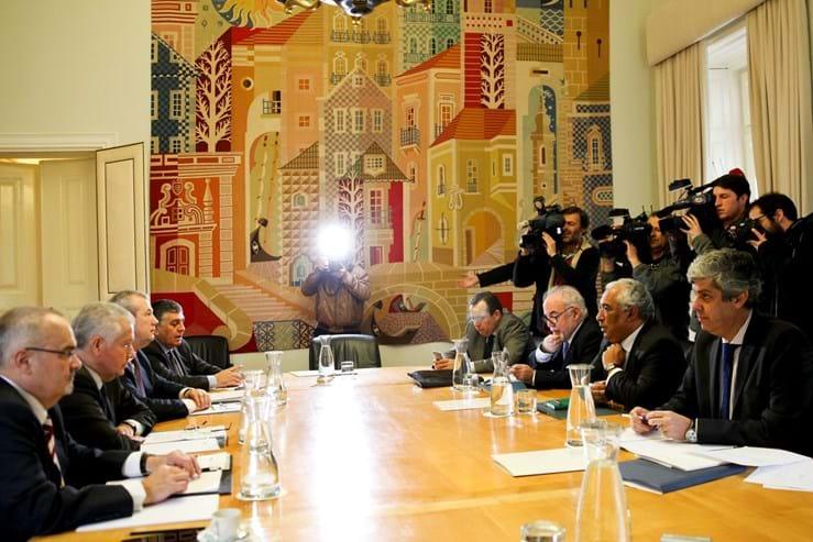 António Costa recebeu os representantes das confederações patronais a 9 de Fevereiro, dia de Carnaval, com a proposta de Orçamento do Estado na agenda.
