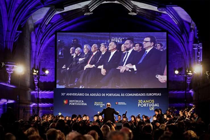 A 1 de Janeiro deste ano passaram 30 anos sobre a adesão de Portugal à CEE. A comemoração ocorreu em Lisboa a 8 de Janeiro.