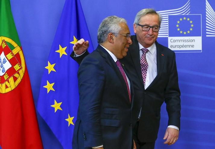Juncker recebeu Costa em Bruxelas a 18 de Fevereiro antes de um Conselho Europeu. Portugal tem estado a desafiar as regras orçamentais europeias, ao mesmo tempo que repete que quer cumprir com todas elas.
